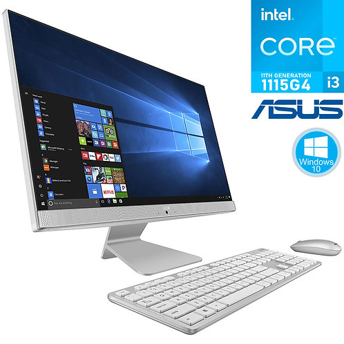 """ASUS - All-in-One - 24""""FHD\i3-1115G4 \8GB\256GB \Win10\1Yr - V241E"""