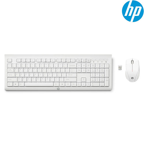 HP - Wireless Desktop Combo - C2710 - White (HEB)