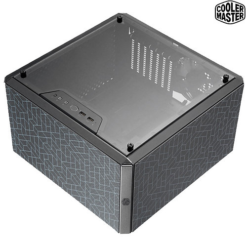 Cooler Master - MasterBox Q500L - Customizable, Vertical\Horizontal