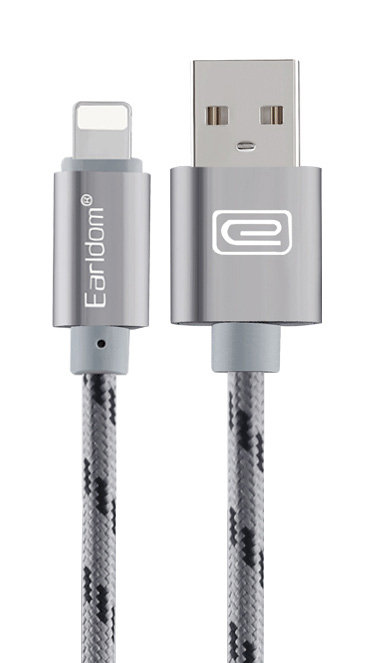 Earldom - Lightning Metal Charger Cable - 1m