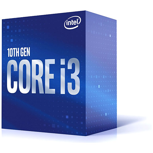 Intel - Core i3-10100F - Box Processor