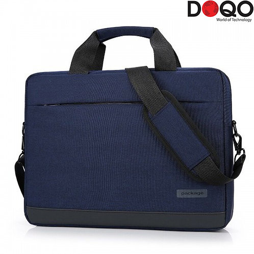 DOQO - Laptop Bag - B020 Blue - 15.6""