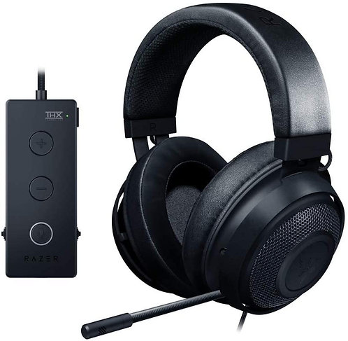 Razer - Kraken Tournament Edition Black (Stereo) (THX Spatial Audio)