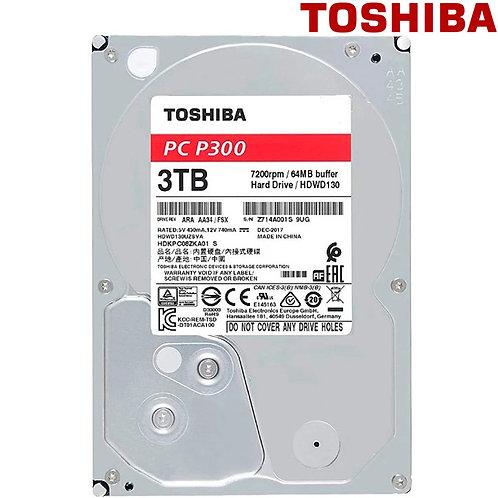 "Toshiba - 3TB - P300 - 3.5"" 7200RPM SATA HDD"