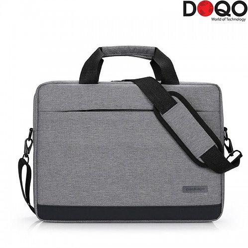 "DOQO - Laptop Bag - B020 Grey - 15.6"""