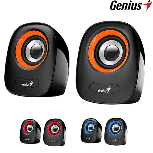 Genius - SP-Q160 - 2.0 Stereo Speakers USB Powered - 8W