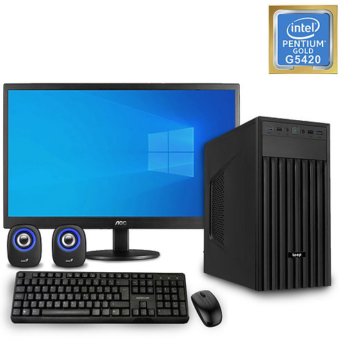 Desktop PC - Basic Pentium Set - G5420\No OS + Monitor\KBM\SP