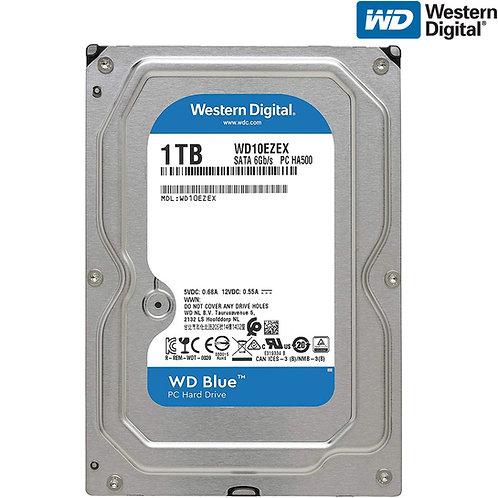 """Western Digital - WD Blue - 1TB - WD10EZEX 7200 RPM 3.5"""" SATA HDD"""