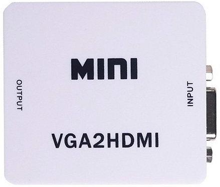 Mini VGA to HDMI Adapter