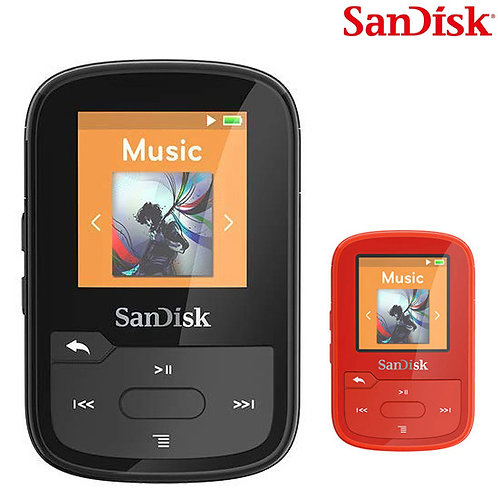 MP3 Player - Sandisk - Clip Sport Plus 16GB