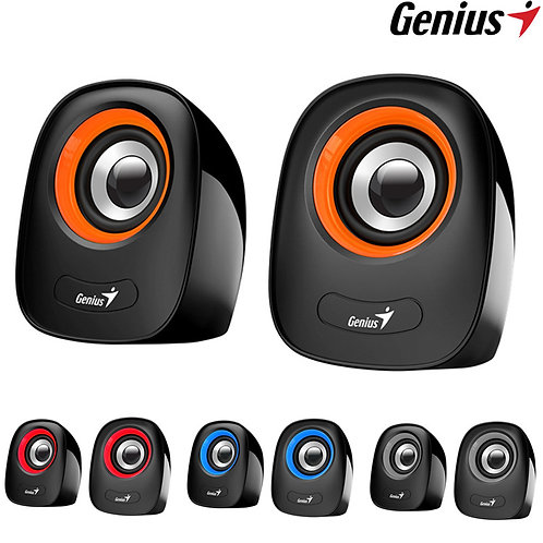 Genius - SP-Q160 - USB Stereo Speakers - 8W