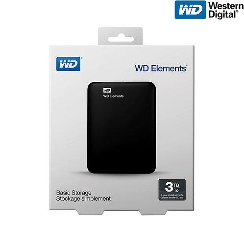Western Digital - Elements - 3TB