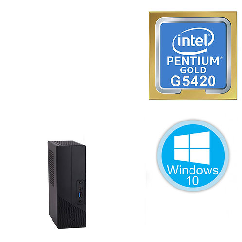 Desktop PC - Mini - Pentium G5420 \8GB\512GB \Win10