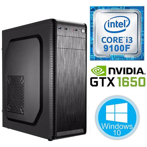 Desktop PC - i3-9100F \8GB\256GB \GTX1650-4GB \Windows10