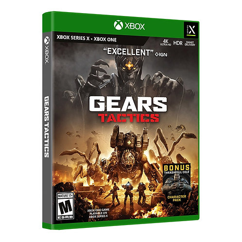 XBOX SERIES - Gears Tactics + Character Pack - Disk