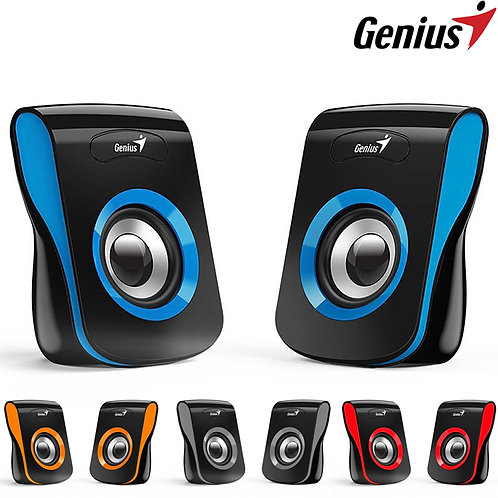 Genius - SP-Q180 - 2.0 Stereo Speakers USB Powered - 6W