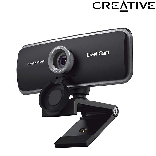 Creative - Live! Cam SYNC 1080P - Full HD Webcam with Dual Built-in Mic