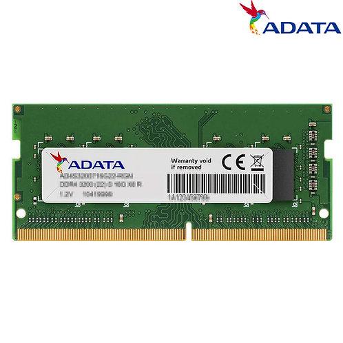 ADATA - SODIMM - 16GB - DDR4 3200 MHz CL22 - PC4-25600