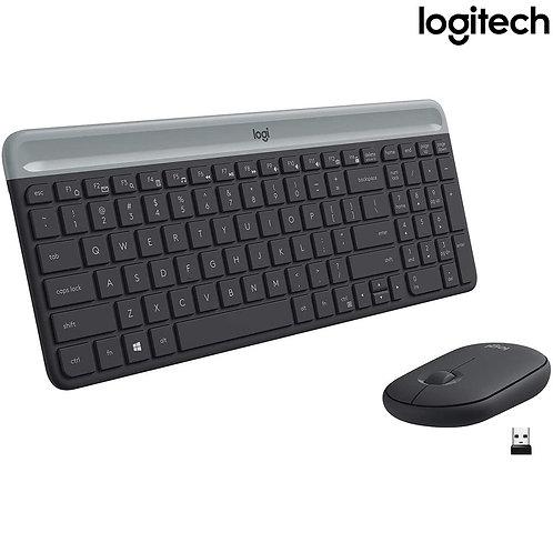 Logitech - Slim Wireless Combo - MK470 (HEB)
