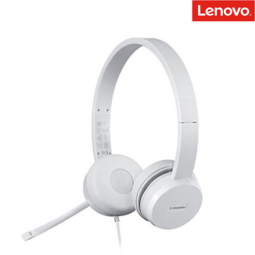 Lenovo - 110 Stereo USB Headset (USB)