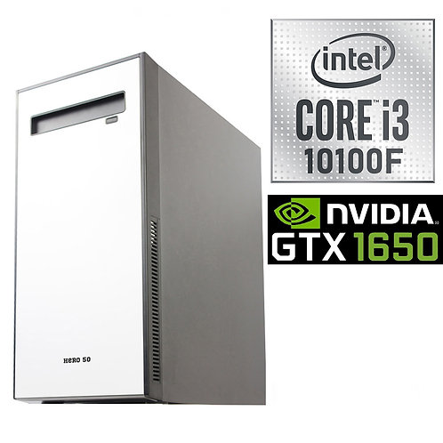 Desktop PC - Gaming Basic - i3-10100F \GTX1650-4GB \NoOS