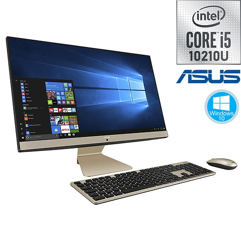 "ASUS - All-in-One - 21.5""FHD-IPS\i5-10210U\16GB\256GB+1TB\Win10\3Yr - V222FAK"