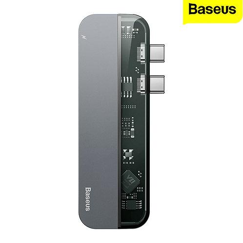 USB Hub Type-C - Baseus - Dual Type-C Multifunctional HUB - USB, HDMI
