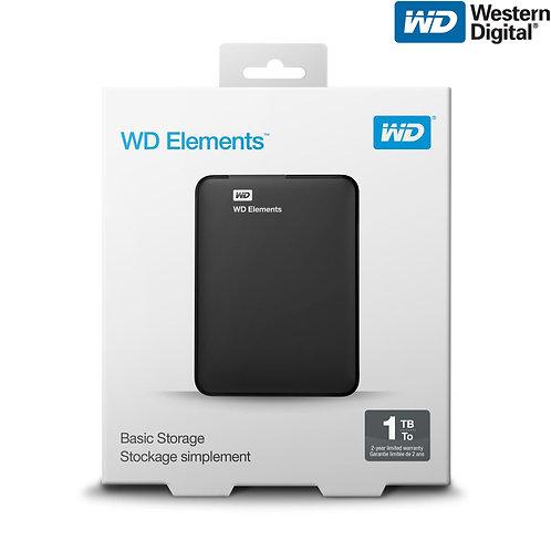 Western Digital - Elements - 1TB
