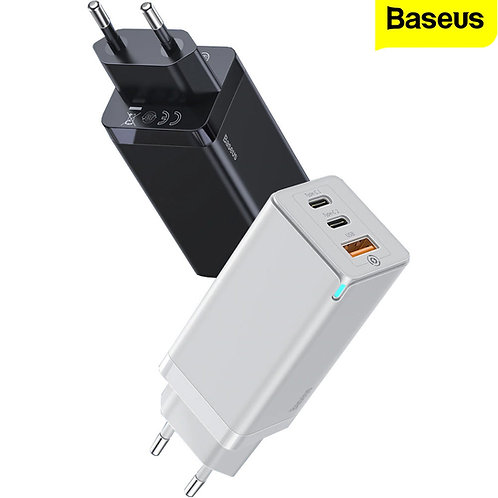 Baseus - Mini Quick Charger - BS-E915 - 65W (for mobile and 65W type-c laptops)