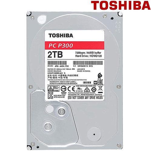 "Toshiba - 2TB - P300 - 3.5"" 7200RPM SATA HDD"
