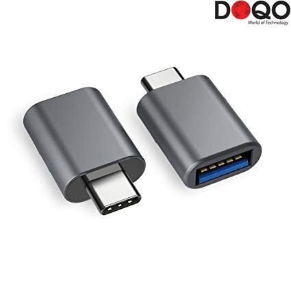 DOQO - USB 2.0 to Type-C Adapter - Plastic