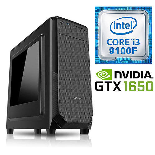 Desktop PC - i3-9100F\8GB\256GB\GTX1650-4GB