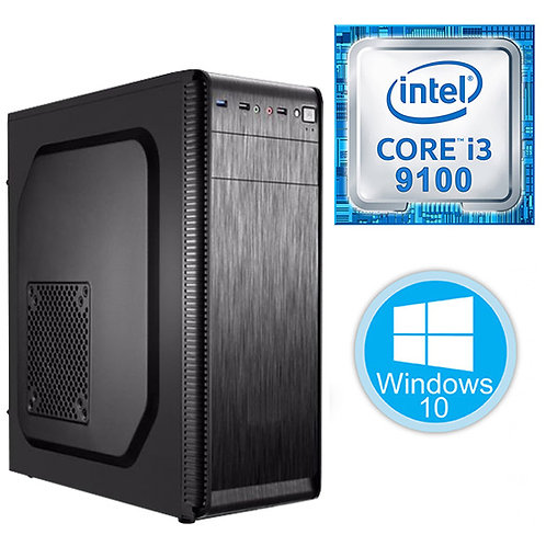 Desktop PC - i3-9100\4GB\256GB\Win10