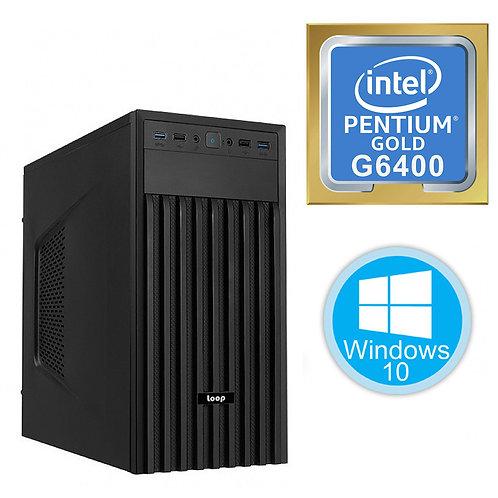 Desktop PC - Basic Pentium 10th Gen - G6400\Windows 10