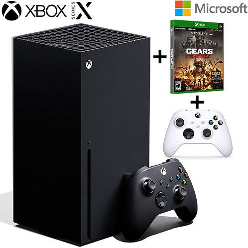 XBOX SERIES X - 1TB SSD - 2 Gamepads + Game Disk Gears Tactics
