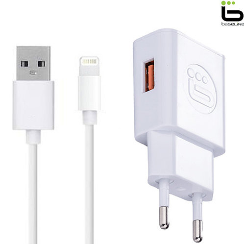 Baseline - Charger + Lightning Cable