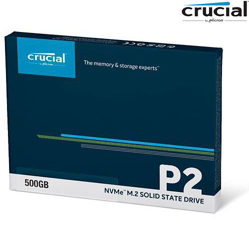 Crucial - P2 NVMe M.2 - 500GB