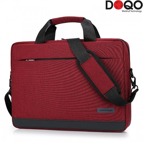 DOQO - Laptop Bag - B020 Red - 14.1""
