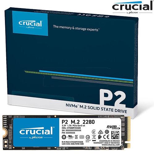 Crucial - P2 NVMe M.2 - 2100MBs - 250GB