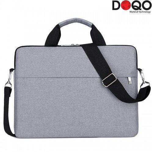 "DOQO - Laptop Bag - B022 Grey - 15.6"""