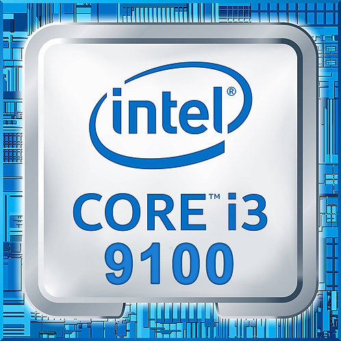 Intel - Core i3-9100 - Tray Processor