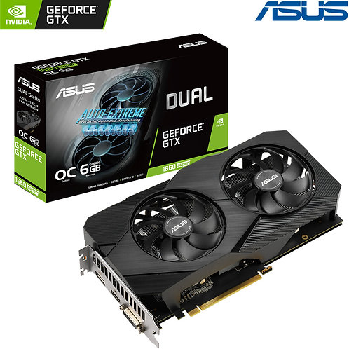ASUS - Nvidia GeForce - GTX 1660 Super - OC Edition - 6GB