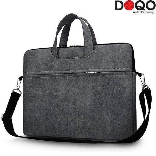"DOQO - Laptop Bag - B021 Black - 15.6"""