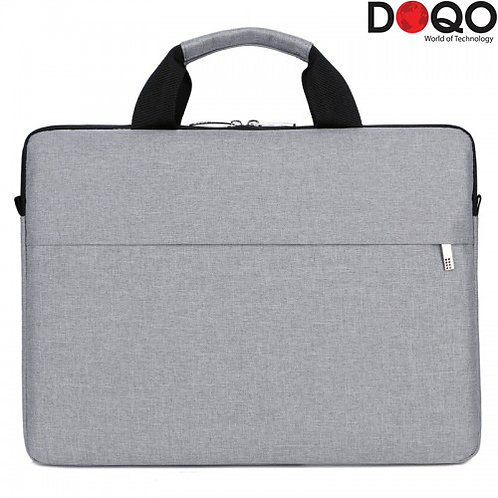 DOQO - Laptop Bag - B022 Grey - 14.1""