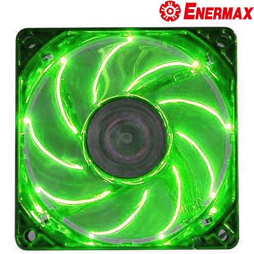 Enermax - Apollish UCAP12 - 120mm LED Green