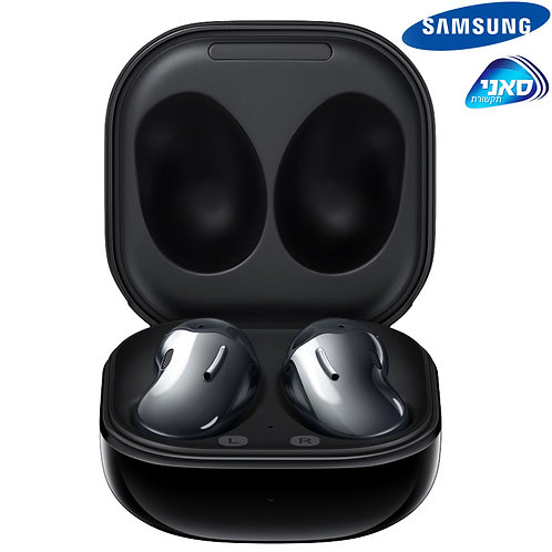 Samsung - Galaxy Buds Live Black - 6-8 Hours (+21-29)