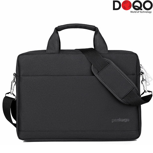 DOQO - Laptop Bag - B023 Black - 17.3""