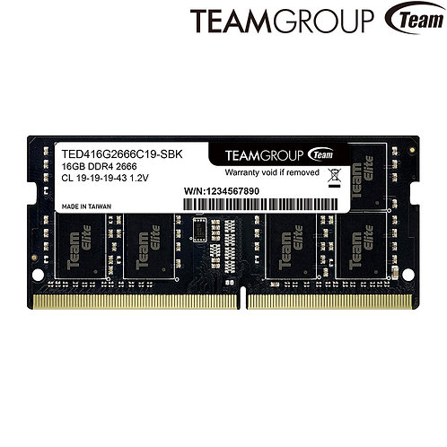 Team Group - SODIMM - 8GB - DDR4 2666 MHz CL19