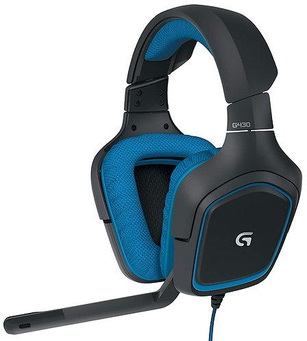 Logitech - G430 Surround (Virtual 7.1)