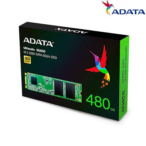 ADATA - Ultimate SU650 M.2 - 480GB
